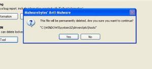 Malware Delete System 32