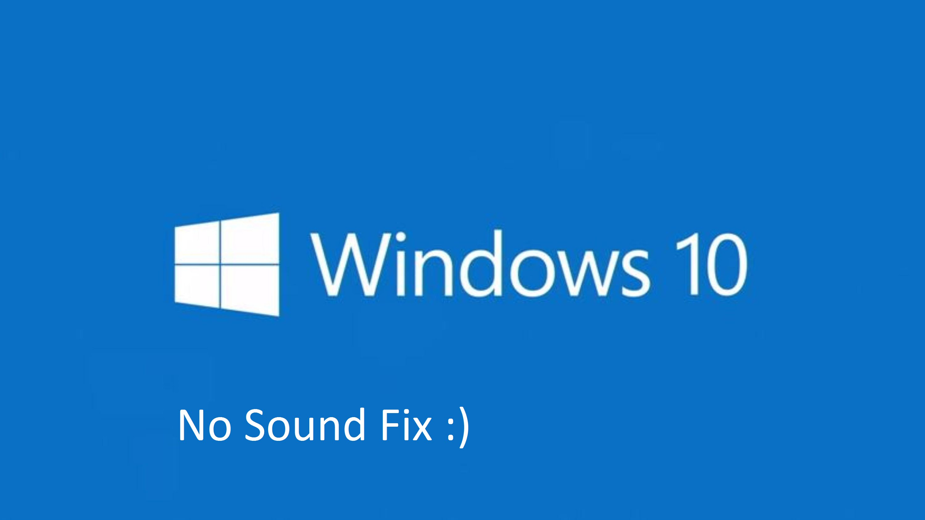 Audio service is not running on Windows 7/10 what to do?