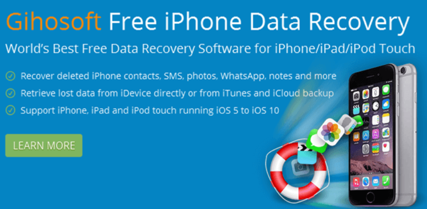 gihosoft iphone data recovery