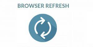 refresh browser