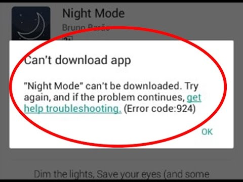 4 Proven Ways To Fix Error Code 924 In The Google Play Store