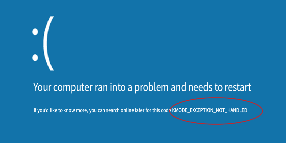 KMODE_EXCEPTION_NOT_HANDLED: 4 Plus Effective Ways To Fix This Error