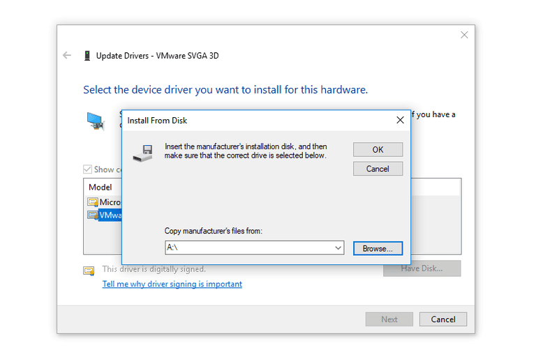 update device drivers