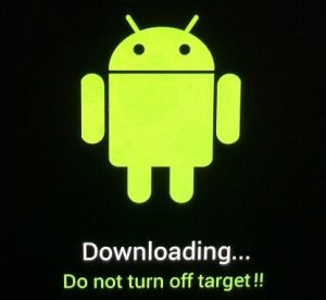 How to download Android if the phone is in sleep mode?