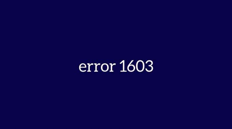 Error 1603 When Installing Java – 100% Working Ways To Fix This Error