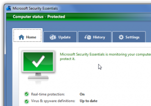 checking antivirus effects