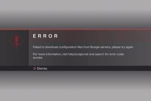 Error Code Baboon In Destiny 2 – 5