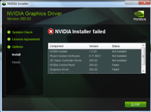 unable to connect Nvidia