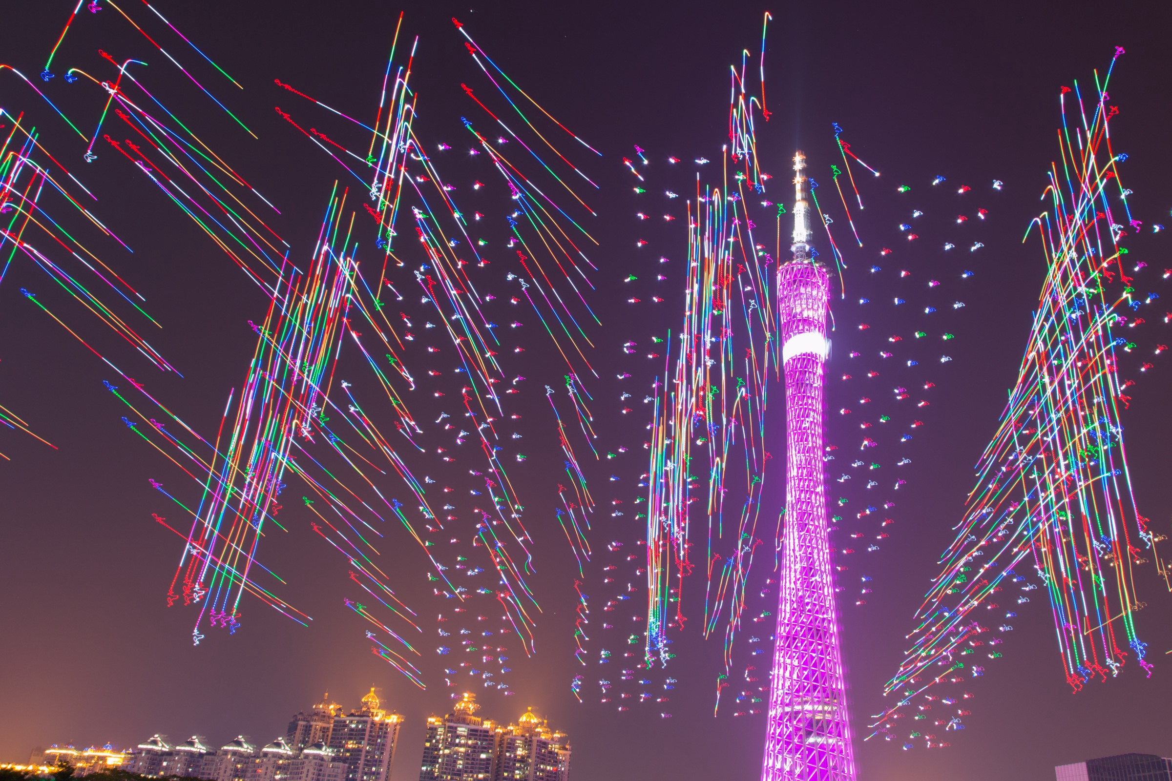 Drone Light Shows to Replace Fireworks