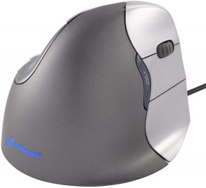 Evoluent VM4R Vertical Mouse with Wired USB Connection